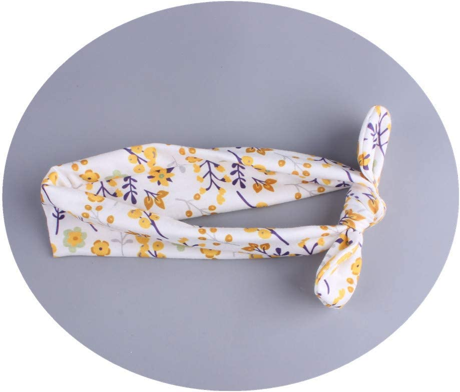 Ogquaton Premium 3 Pcs Nouveau-N/é B/éb/és Filles Mignon /Élastique Floral Bandeau D/éfinit Enfants Bowknot Hairband Kit Style 7