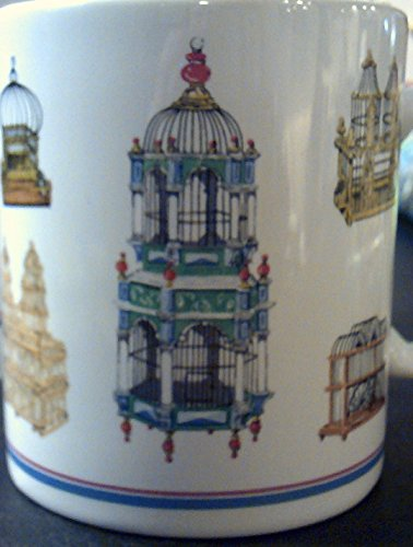 Otagiri Advantage Collection Ceramic Victorian Birdcage Mug