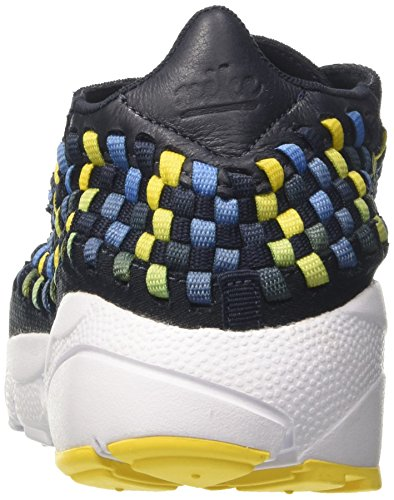 Nike Mens Air Footscape Woven Nm, Dark Obsidian / Tour Yellow Dark Obsidian / Tour Giallo