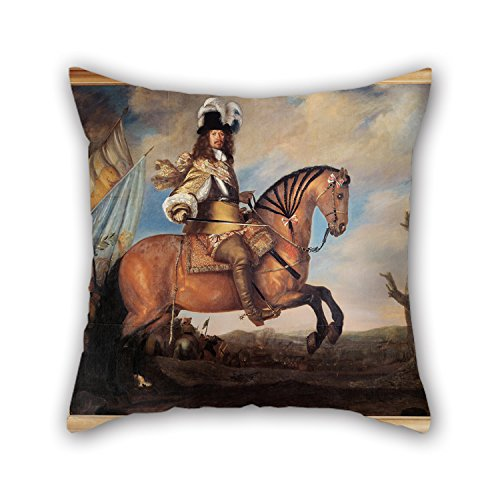 [Cushion Covers Of Oil Painting David Klöcker Ehrenstrahl - Carl Gustaf Wrangel (1613 �76),for Bf,bench,sofa,kids Girls,kids Room,deck Chair 20 X 20 Inches / 50 By 50 Cm(twin] (In N Out Burger Halloween Costume)