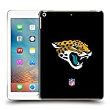 Official NFL Plain Jacksonville Jaguars Logo Hard Back Case for iPad 9.7 2017 / iPad 9.7 2018