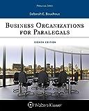 #6: Business Organizations for Paralegal (Aspen Casebook) (Aspen Paralegal)