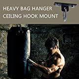 Qualward Punching Bag Hanger,Heavy Bag Ceiling Hook