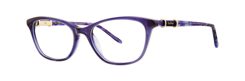 Eyeglasses Lilly Pulitzer Castilla NAVY HEATHER TORT