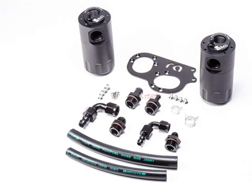 Radium Engineering Dual Catch Can Kit for Lotus 2ZZ-GE Elise Exige 211