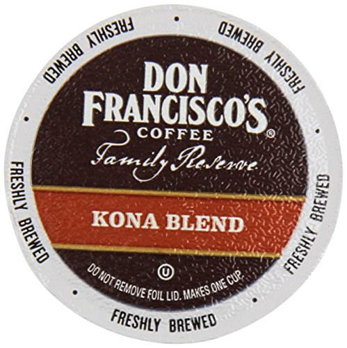 Don Francisco Family Reserve Single Serve Coffee, Kona Blend, 12 Count, 4.44oz Box (Pack of 3) (Don Francisco Coffee K Cups compare prices)