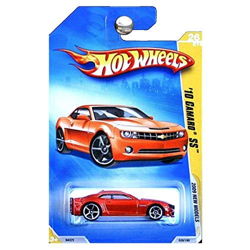 Hot Wheels 2009 New Models 2010 Camaro SS Copper Orange