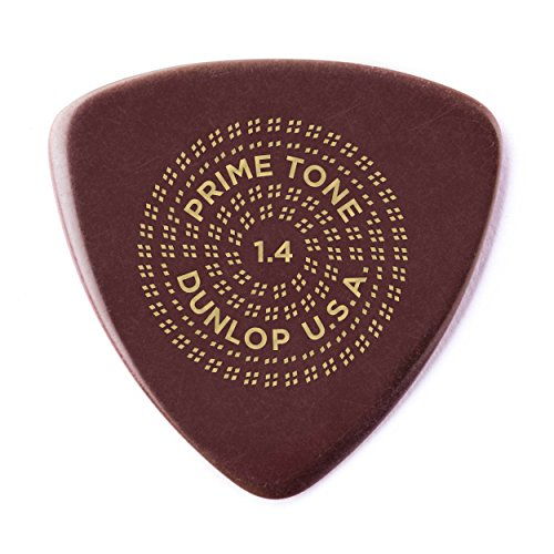 - Dunlop Primetone Triangle 1.4mm Sculpted Plectra (Smooth) - 12 Pack