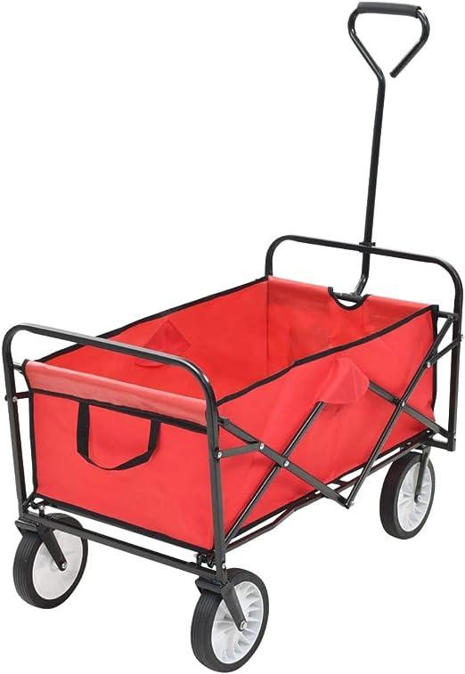 vidaXL 2 Piezas Carretilla de Transporte de Coches en cuatro ruedas giratorias