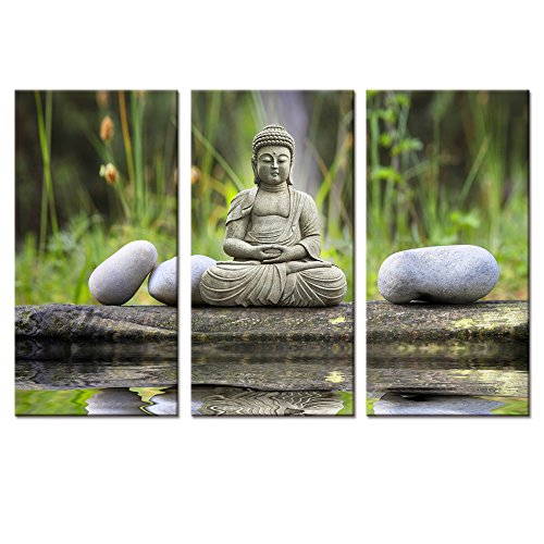 Buddhas Art Peaceful Decoration Stretched product image