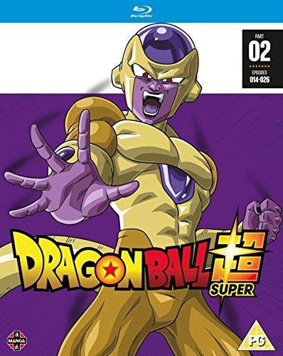 Dragon Ball Super Season 1 - Part 2 (Episodes 14-26) [Blu-ray] (Dragon Ball Super Part 2 Blu Ray)