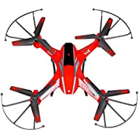 Owill YD- A8 4CH 6-Axis Gyro 2.0MP HD Camera RC Quadcopter 360 Flips Aircraft Drone/Great Gift For Your Friends (Red)
