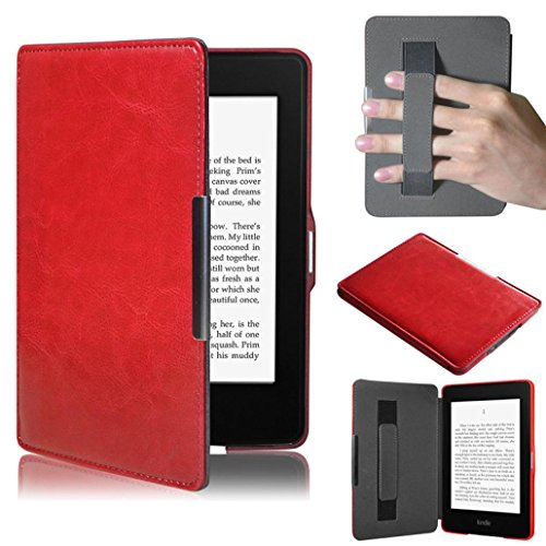 For Amazon Kindle Paperwhite 5, Ikevan Ultra Slim Leather...