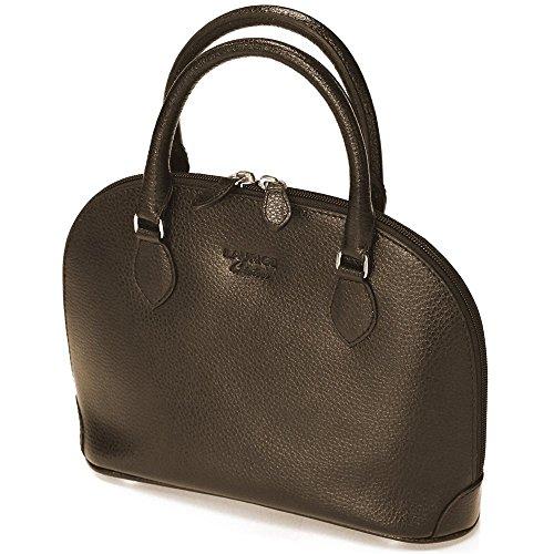 Mini Tasche New York Leder Herstellung Luxe Französische Braun - Braun SHhpmK