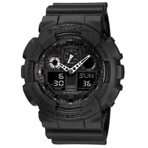 (Casio G-Shock Men's Big Combi Military Series Watch, Black, One Size)