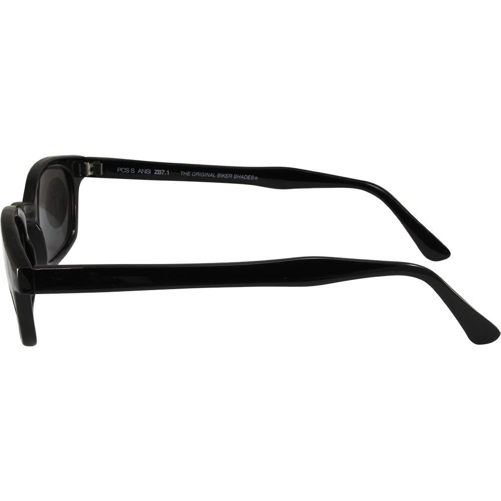 PC Sun X-Kd Biker Lunettes Matte Noir Frame Smoke objectif