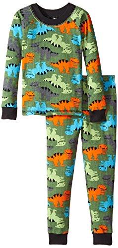 Jockey Little Boys' Thermal Underwear Set, Dino Allover Print, - Thermal Jockey