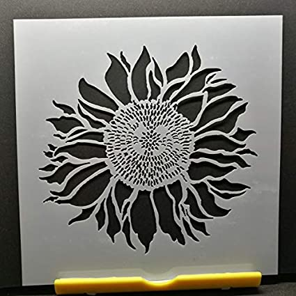 Sunflower Pattern Layering Stencil Template DIY Scrapbooking Home Decor Gifts