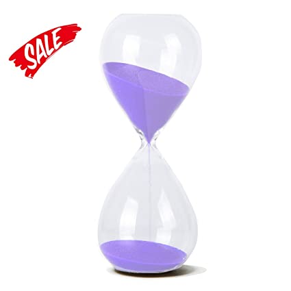amazon com hovebeaty hourglass hand blown sand timer set for time