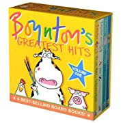 Boynton's Greatest Hits Volume 1: Blue Hat, Green Hat; A to Z; Moo, Baa, La La La!; Doggies (Boynton Board Books)