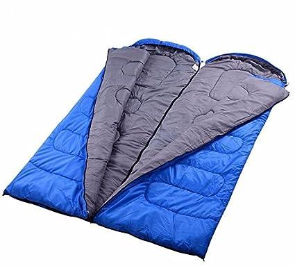 SUHAGN Saco de dormir Algodón Exterior A Prueba De Humedad Acampar Al Aire Libre Bolsa De