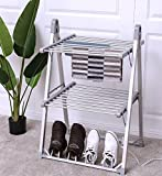 K&A Company Drying Dryer Electric Rack Portable Clothes Laundry Shoes Dehumidifies Boots Dries Shoe Capacity Stand Electric Dryer 2-Tier