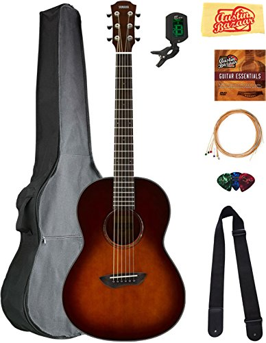 Yamaha Csf1m Parlor Acoustic Guitar Tobacco Brown Sunburst