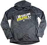 MLB Youth Authentic Collection Team Choice Streak Fleece Hoodie (Youth Small 8, Oakland Athletics A's)