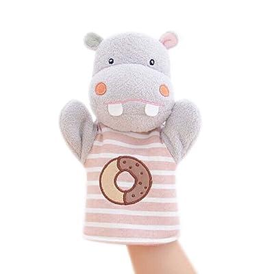 Marionnettes à main Puppets animaux apprentissage Poupées Fantaisie Jouet Hippo Modèle