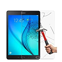 DETUOSI® Samsung Galaxy Tab A 9.7 Tempered Glass Screen Protector Film,[Anti-fingerprint][9H Tempered Glass Technology] Film Protector for Samsung SM-T550 P550 9.7 Inch Tablet