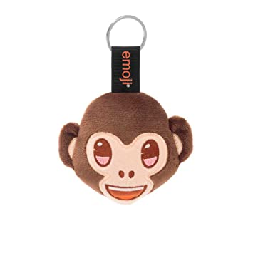 Emoji Llavero mono marrón: Amazon.es: Juguetes y juegos