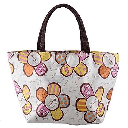 Amazon.com: DealMux Flower Polyester Pattern Fora Bolsa ...