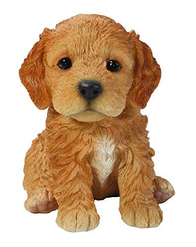 Statue Garden Puppy - Hi-Line Gift Ltd Sitting Cockapoo Puppy, 6