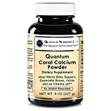 Quantum Coral Calcium Powder, 24 Oz (525 servings) (3 bottles) Ideal Coral Legend Whole Body Support, especially for the Bones, Joints, Teeth and an Alkaline pH