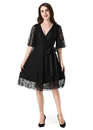 Neck Cover Robe Sexy V Lace Up Deep Bigforest Cocktail Femme¡¯s xerCBdoW