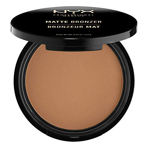(NYX PROFESSIONAL MAKEUP Matte Bronzer, Deep Tan, 0.33 Ounce)