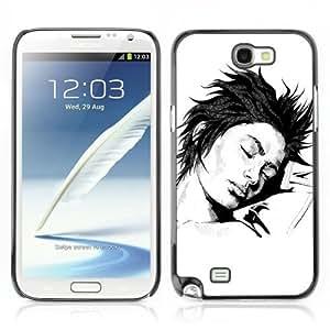 YOYOSHOP [Cool Tattoo Illustration] Samsung Galaxy Note 2 Case