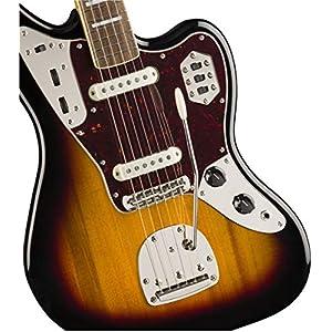 Squier by Fender Classic Vibe 70's Jaguar Electric Guitar - Laurel - 3-Color Sunburst