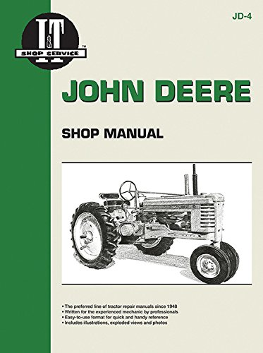 - John Deere Shop Manual: Series A, B, G, H, Models D, M