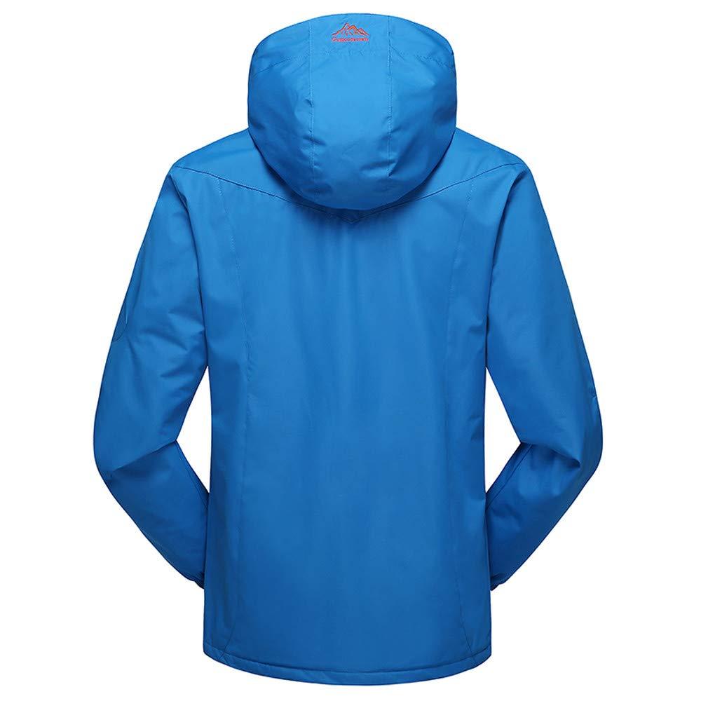 Autumn Winter Outdoor Cashmere Zipper Hoodie Sport Outdoor Assault Coat YKARITIANNA Mens Winter Outdoor Skiing Anorak