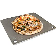 "NerdChef Steel Stone - High-Performance Baking Surface for Pizza .50"" Thick - Ultimate"