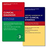 img - for Oxford Handbook of Clinical Diagnosis 3e and Oxford Handbook of Key Clinical Evidence (Oxford Medical Handbooks) book / textbook / text book