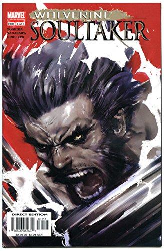 WOLVERINE SOULTAKER #1 2 3 4 5, NM, Yoshda, Nagasawa, 2006, more Marvel in store -