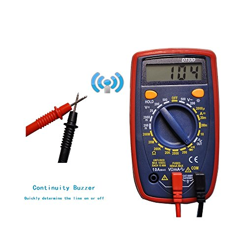 Check For Continuity Voltmeter : Digital multimeter voltmeter bovini ammeter