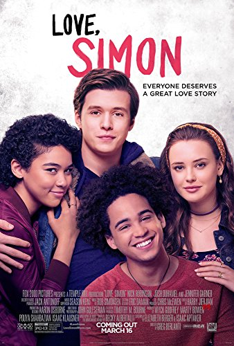 Love, Simon Movie Poster Limited Print Photo Nick Robinson, Jennifer Garner, Josh Duhamel Size 16x20 #1 by Posters USA