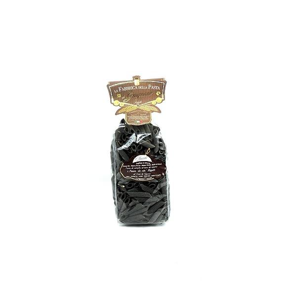 La Fabbrica Della Pasta - Penne Rigate al Nero di Seppia - 500g