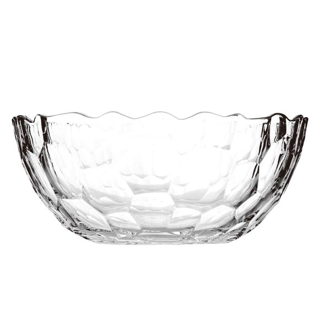 HY フルーツプレートフルーツバケツ鉛フリーガラス透明なヨーロッパの家の居間コーヒーテーブル振り子 (サイズ さいず : L30CMXH12CM) L30CMXH12CM  B07JW61CWS