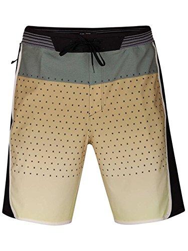 Hurley Mens Phantom Hyperweave Motion Reef 18'' Boardshorts 890782 (38, Buff Gold) by Hurley
