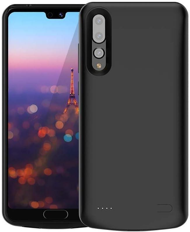 Shangcer Caja del teléfono Celular Power Bank Funda for teléfono móvil 6000 MAh Batería Recargable portátil Funda for teléfono Recargable Externa for Huawei P20 Pro Accesorios para teléfono móvil: Amazon.es: Hogar