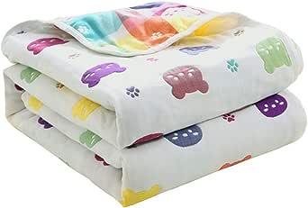 Colcha fresca de verano.Las toallas son de algodón gasa gruesa individual doble bebé niños manta bebé verano manta fresca aire acondicionado toalla manta -2.3 * 2.0 m: Amazon.es: Amazon.es